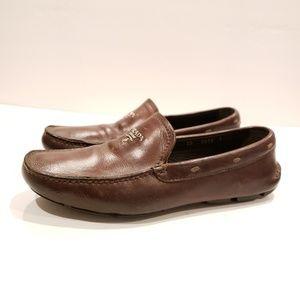 Prada mens driving shoes size 7